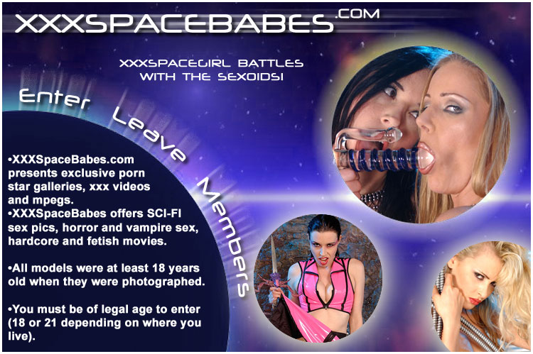 Space Babes in sci fi group sex