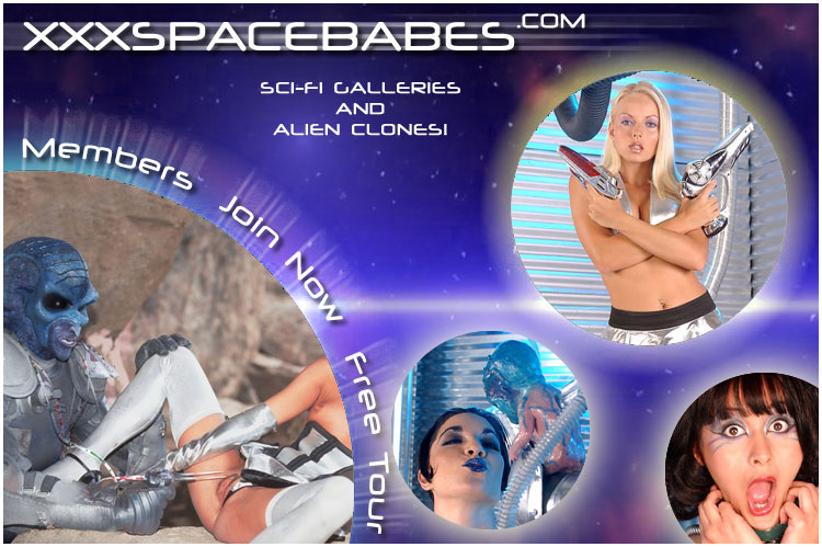 Sci Fi porno clones in group sex action